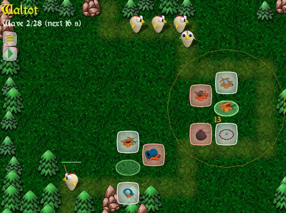 Ovládání - menu hry