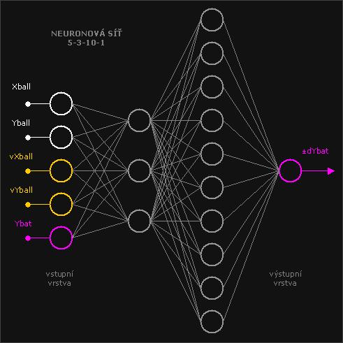 Neuron ping pong net
